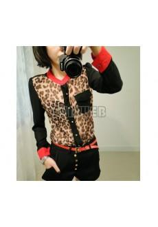 Рубашка Leopard