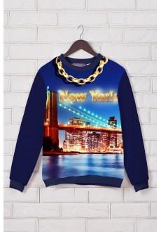 Свитшот Swag с принтом «New York»