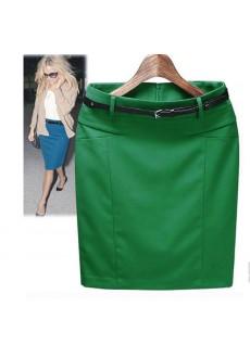 Элегантная юбка на ремешке